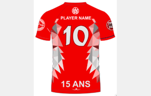Maillot - Belief - 15 ANS - Touch Strasbourg